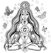 meditation coloring pages elegant chakra mandala coloring pages