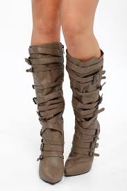 s boots with buckles knee high multi buckle high heel boots cicihot boots catalog