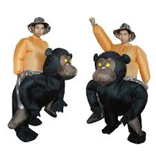Inflatable Halloween Costumes Adults Anself Cute Inflatable Chimpanzee Costume Suit Blow Sales