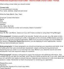 cover letter supervisor cover letter sample housekeeping