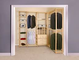 simple closet home of easy to install affordable wood closet
