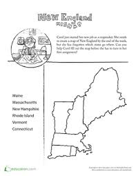 mixed up map learn u s geography worksheet education com