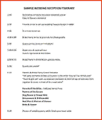 wedding itinerary template 10 event itinerary template collectionswedding itinerary template