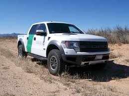 Ford Raptor Blue - capsule review ford svt raptor united states border patrol