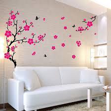 wall stickers funky vinyl wall decals xl plum blossom wall sticker
