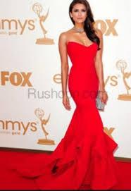dress prom red mermaid mermaid prom dress red dress nina