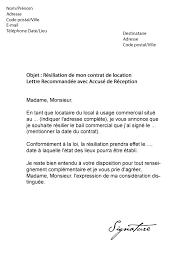 lettre de motivation pour femme de chambre modele lettre resiliation contrat femme de menage contrat de