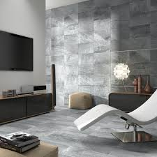 bathroom modern living room design with porcelanosa tile and mid