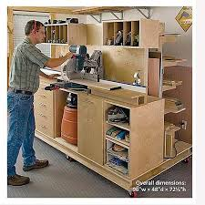 Basement Storage Shelves Woodworking Plans by Woodworking Project Paper Plan To Build Crosscut Station And