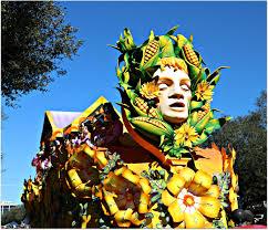 mardi gras parade floats new orleans homes and neighborhoods rex parade float cornhead