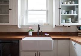 what is a farmhouse sink the one big drawback to a farmhouse sink kitchn
