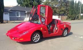 ferrari minivan fiero based ferrari kit car is of questionable quality