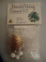 vtg leewards dexter christmas ornament kit bead sequins starburst