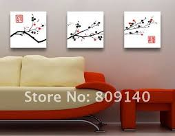 canvas decorations for home free shipping painting flower chinese culture oil painting on canvas