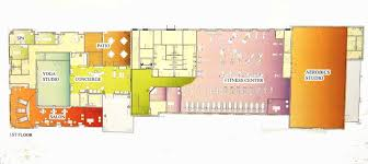 Fitness Center Floor Plans 2020 Building Layout Spa Fitness Center Salon U2013 Sun City Center