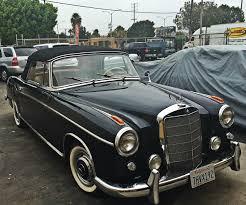 1960 mercedes benz 220se cabriolet fully restored car youtube