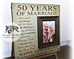 50th wedding anniversary gifts for parents 50th anniversary gifts etsy