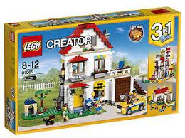 light brick sets creator modular family villa 2017 31069 ebay