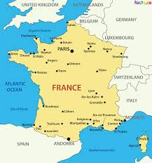 France Germany Map by Map Of France With Cities Recana Masana