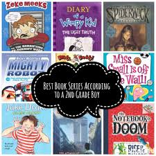 the best book series according to a second grade boy books worth