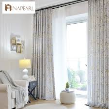 country bedroom curtains linen curtains modern printed bedroom