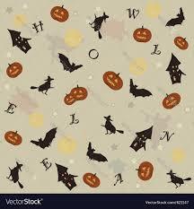 halloween background vector cute halloween background royalty free vector image
