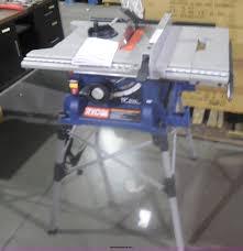 ryobi table saw blade size ryobi rts21 table saw item al9534 sold november 13 vehi
