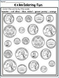 coin identification worksheet money worksheets coin identification worksheets and poster