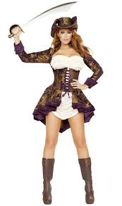 Pirate Of Illusion Costume With Hat