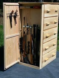 american classics gun cabinet hidden gun cabinet furniture storage door to closet curio with