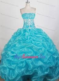 aqua blue quinceanera dresses beading strapless aqua blue quinceanera dress with up and ruche