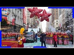 thanksgiving day parade 2017 update live what time to and