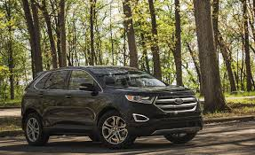 Ford Escape Fuel Economy - 2018 ford edge in depth model review car and driver