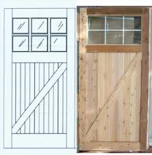 Double Barn Doors by Diy Garage Barn Doors Xkhninfo