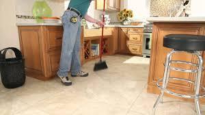 self stick vinyl tile maintenance youtube