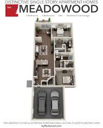 2 Bed 2 Bath House Plans Floor Plans Of The Hamptons In Noblesville In