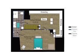 amenagement chambre avec dressing et salle de bain étourdissant chambre parentale avec dressing avec plan suite