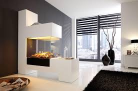 advantages of a three sided fireplace fireplace designs