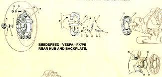 vespa rearhubandbackplate p200e jpg