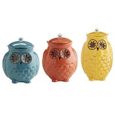 owl canisters for the kitchen owl canisters for the kitchen starry pier 1 imports home