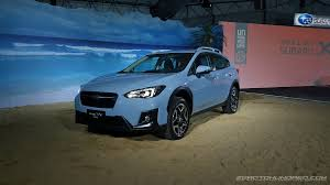 subaru crosstrek black wheels all new 2018 subaru xv now in malaysia first impressions