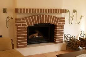 Cleaning Bricks On Fireplace by Brick Fireplaces