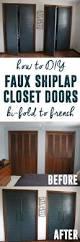 diy closet door update how to update your old bi fold doors to