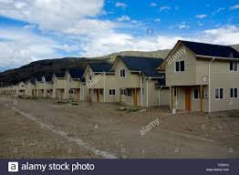 Prefabricated House Prefabricated Houses Patagonia Chile Stock Photo Royalty Free