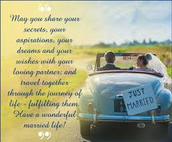 wedding wishes journey newly wedding marriage wishes greeting text message