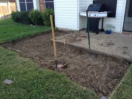 Diy Cement Patio by Adding On Concrete Patio With Pavers Landscaping U0026 Lawn Care