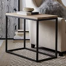 narrow side table awesome mango wood side table with box frame narrow side table