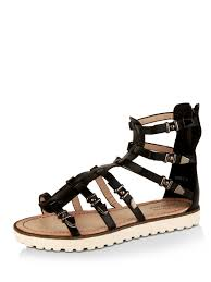 buy buckle detail cleated sole gladiator sandals for women