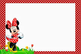 minnie mouse birthday invitations christmanista com