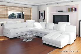 Sofa Clearance Free Shipping Free Shipping Top Grain Cattle Leather Sofa Set White And Living
